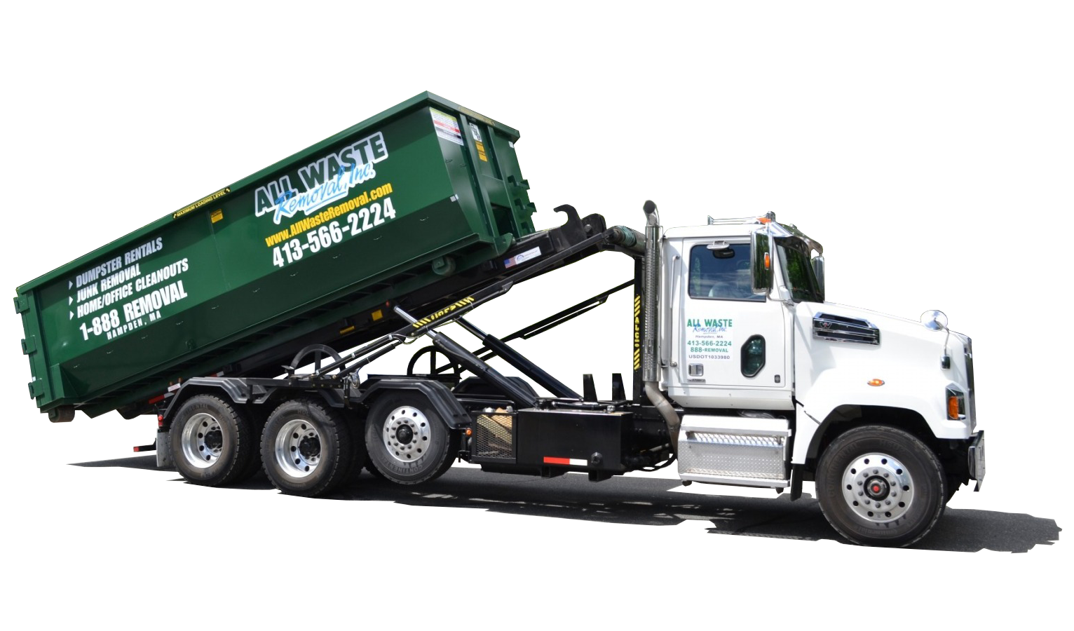 All Waste Removal, Dumpster, Dumpster Rental, roll off dumpster, Western MA, Springfield MA, Northern CT